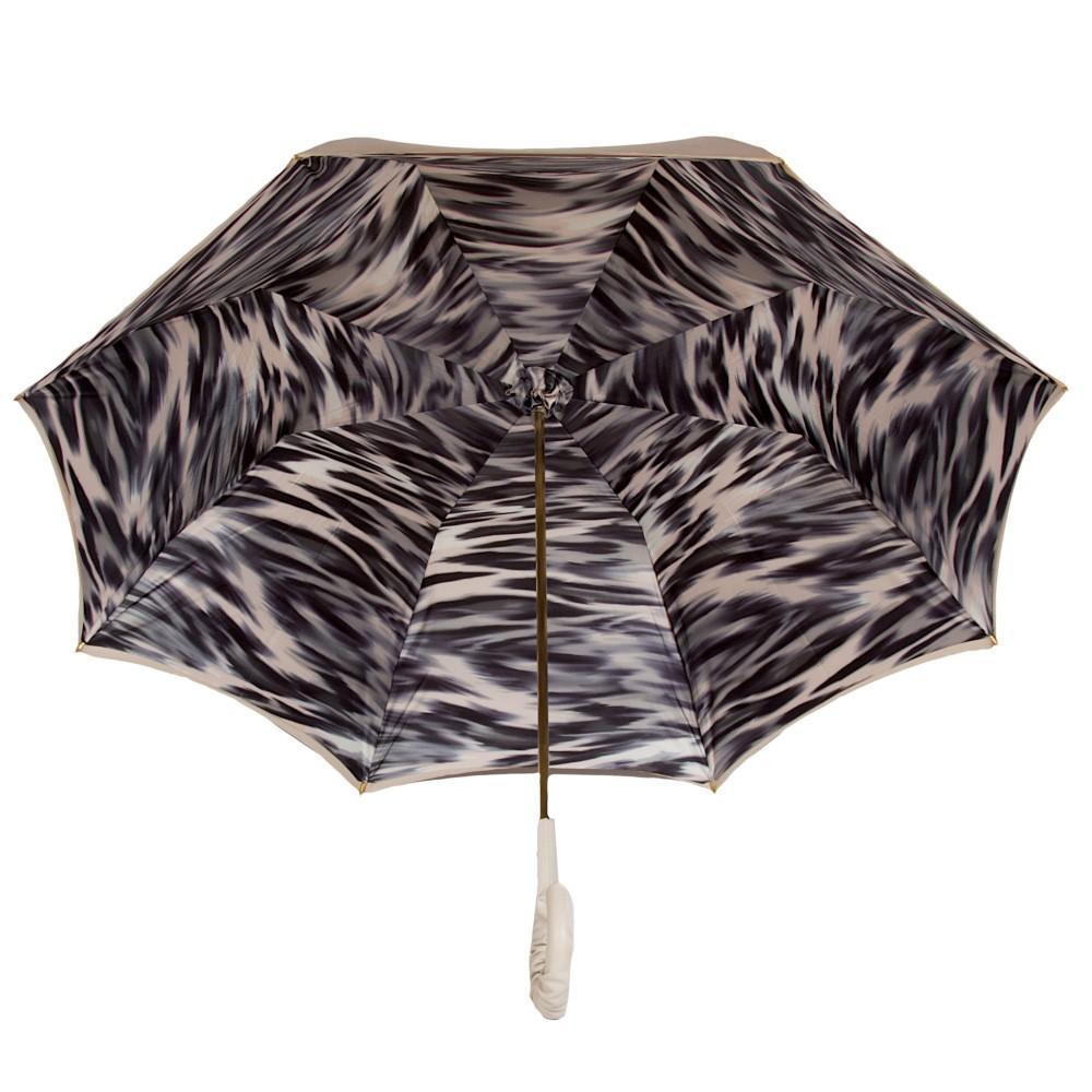Зонт-трость Pasotti Sand Draft Pelle