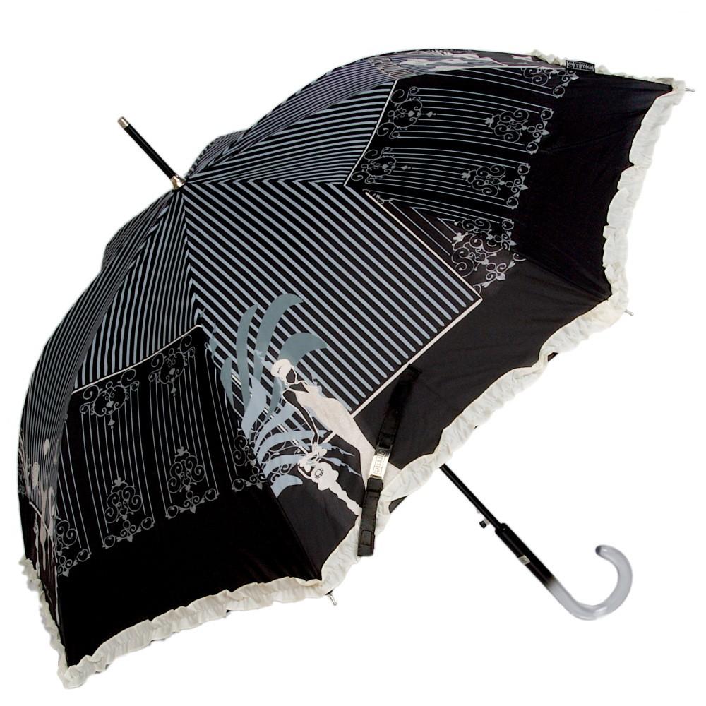 Зонт-трость Emme Fashion Nero
