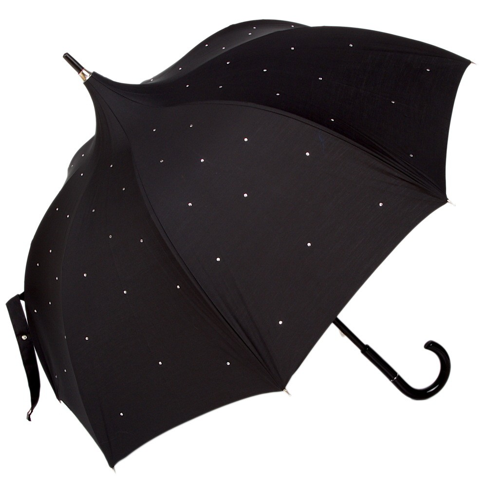 Зонт-трость Chantal Thomass Pagoda Strass Noir