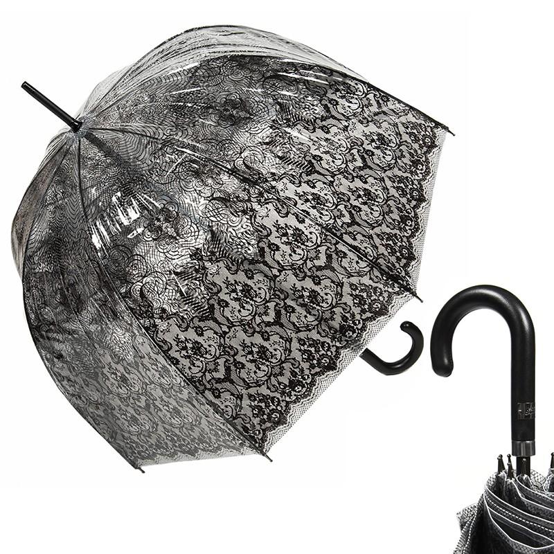 Зонт-трость прозрачный Jean Paul Gaultier Transparent