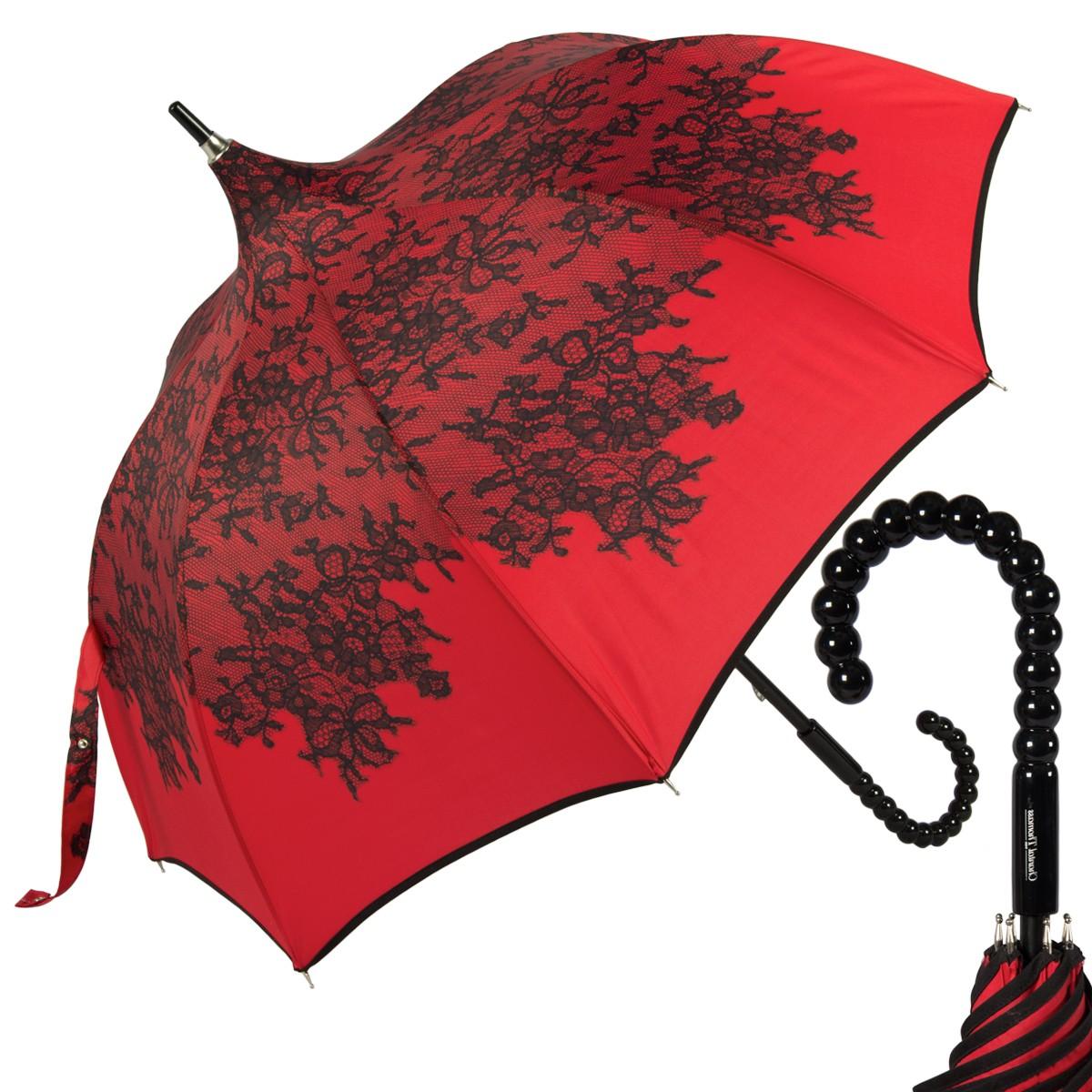Зонт-трость CT Pagode La Primiere Red