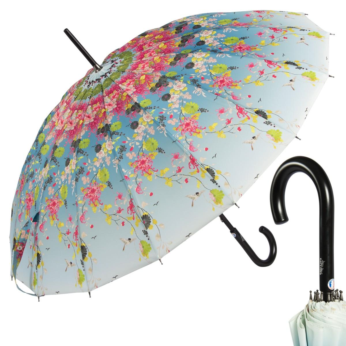 Зонт-трость Jean Paul Gaultier Kimono Blu