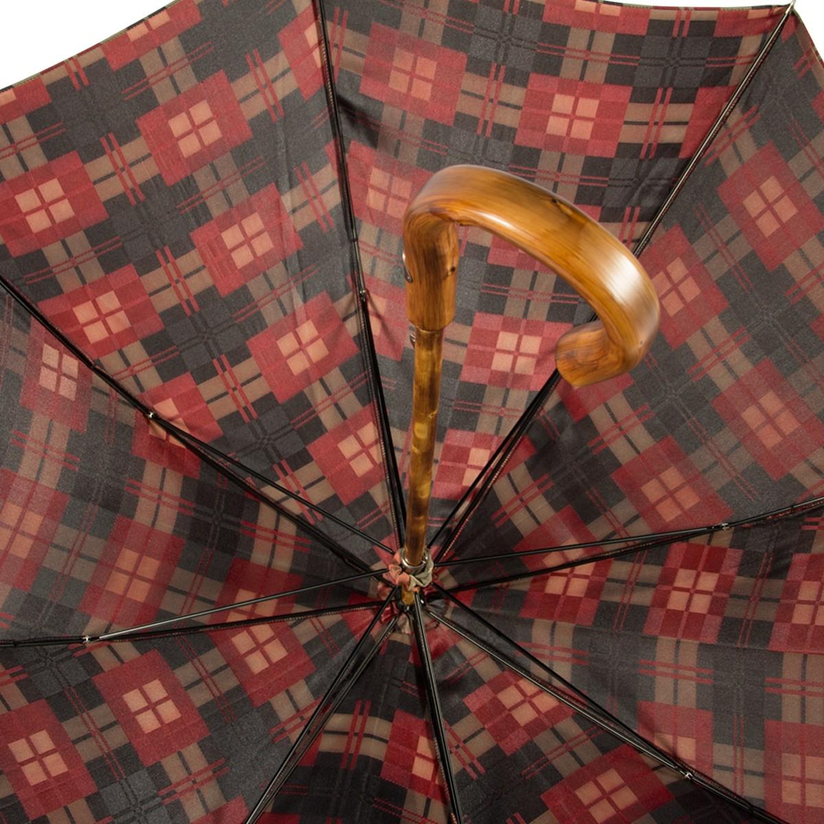 Зонт-трость Pasotti Esperto Castagno Strong Black