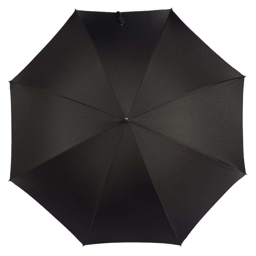 Зонт-трость Pasotti Classic Pelle Niagara Black