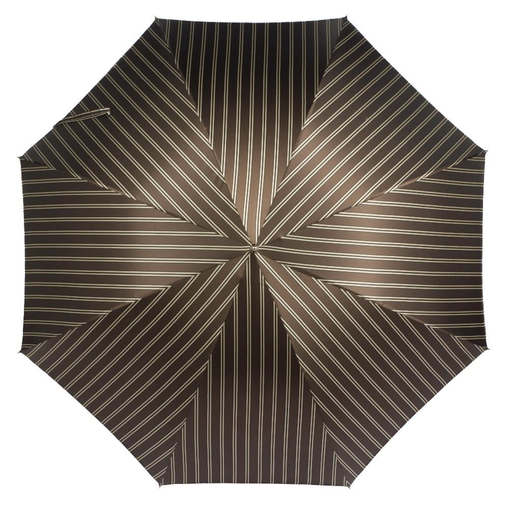 Зонт-трость Pasotti Duck Legno Double Stripes